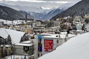 Davos gives bankers and executives a chance to rub elbows and have informal meetings that often lead to deals down the road.Credit Fabrice Coffrini/Agence France-Presse — Getty Images