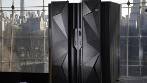 Photographer: Augusto F. Menezes/Feature Photo Service/IBM via Bloomberg The new IBM z13 can encrypt and analyze data in real time and process 30,000 transactions a second.